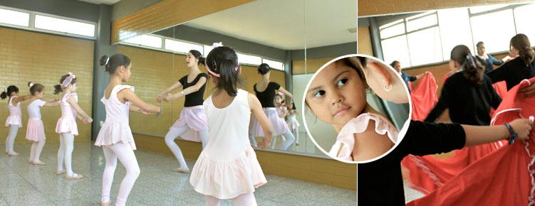 Salón de ballet
