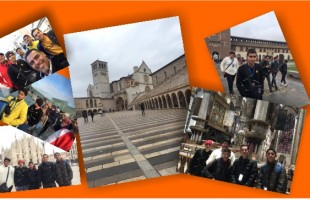 Study trip through Italy